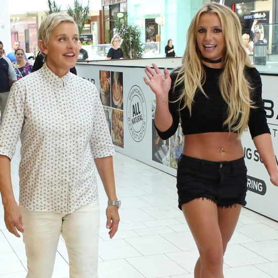 Britney Spears and Ellen DeGeneres Go to the Mall Video