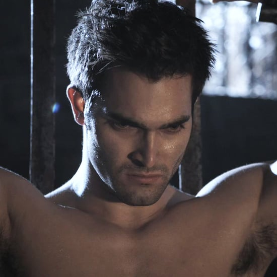Tyler Hoechlin Shirtless on Teen Wolf GIFs