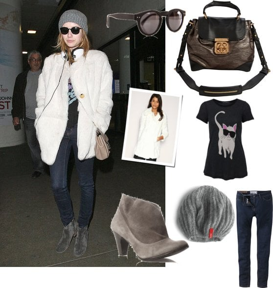 Copy Emma Roberts' Airport Style