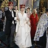 Danica Marinkovic's Roksanda Ilincic Wedding Dress