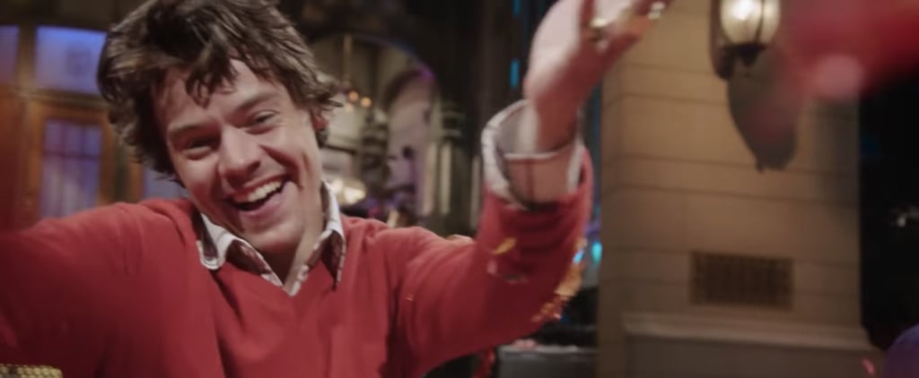 Harry Styles and Kenan Thompson in SNL Promo Video