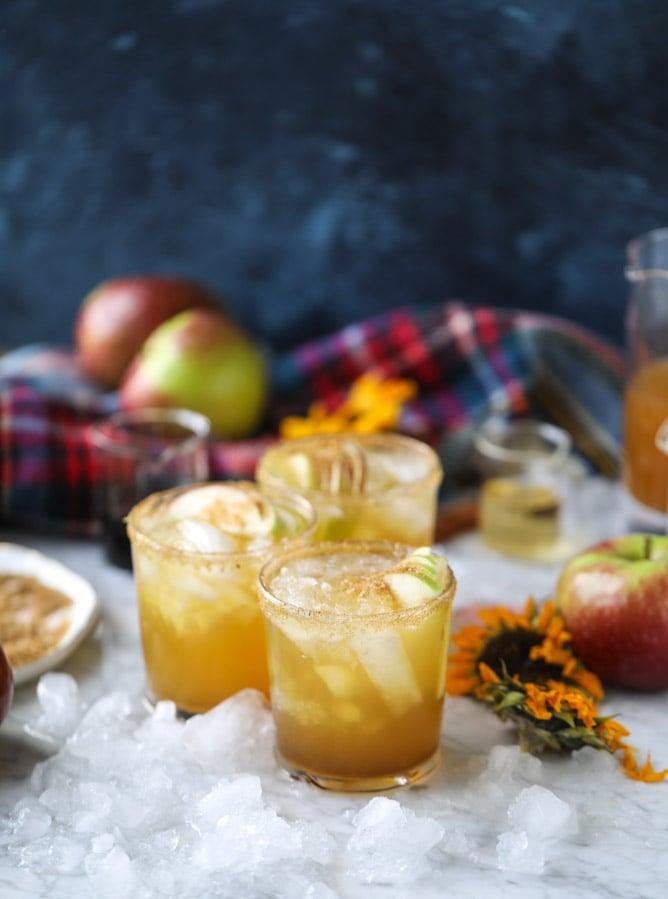 Maple Honeycrisp Margaritas