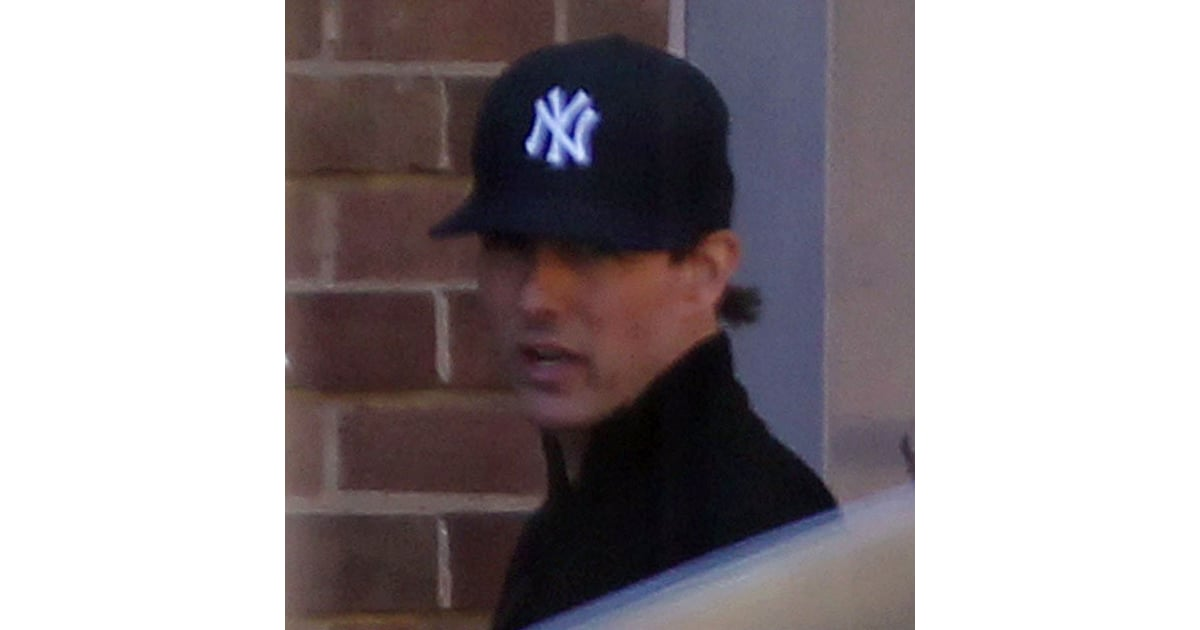 Tom Cruise Wearing Yankees Hat In London Pictures