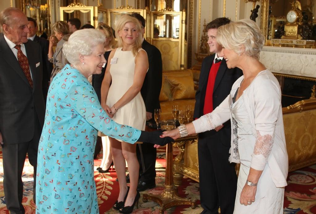 Helen Mirren and the Queen