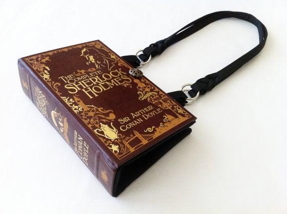 Sherlock Book Purse ($48)