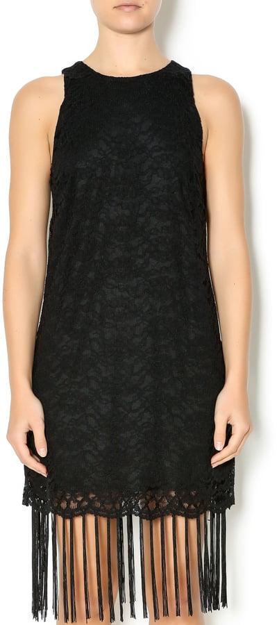 Lush Fringe Lace Dress (£34)
