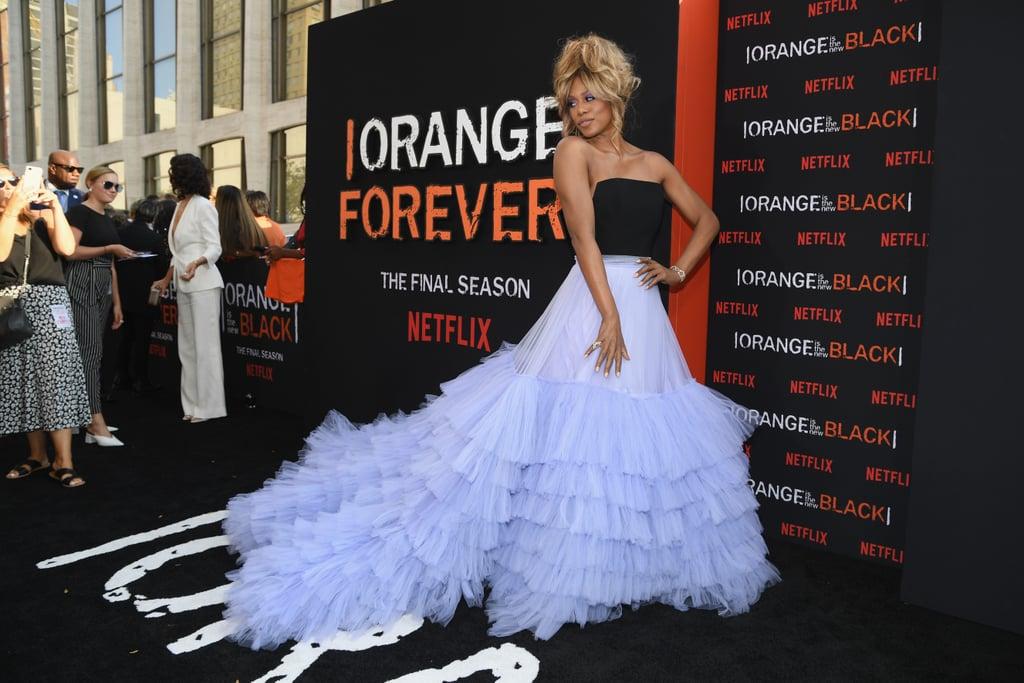 Laverne Cox Orange Is the New Black Premiere Dress