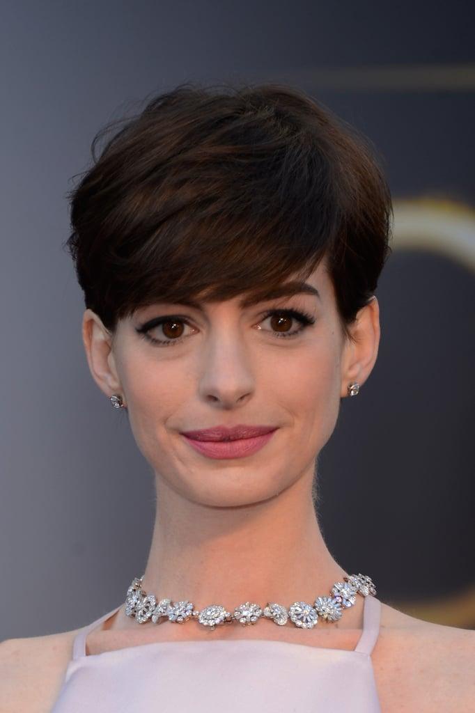 Anne Hathaway's Pixie Cut in 2013