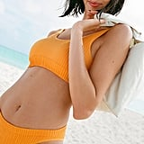 Out From Under Seamless Ribbed Bikini Bottom and Scoop Neck Bikini Top