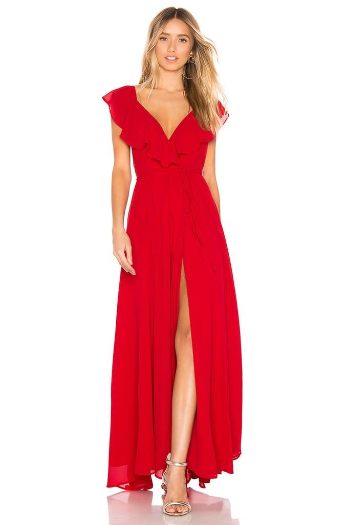Yumi Kim Full Bloom Maxi Dress in Red