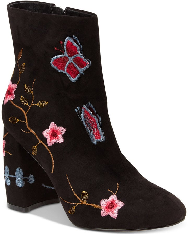 Nanette Lepore Embroidered Booties