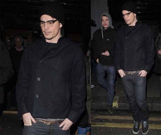 Josh Hartnett in London