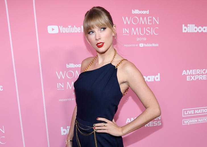 Taylor Swift S Christmas Skittles Manicure Is Festive Af Popsugar Beauty