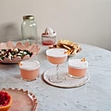 Aquafaba Grapefruit Gin Sour Cocktail