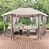 Hexagon Gazebo With Netting