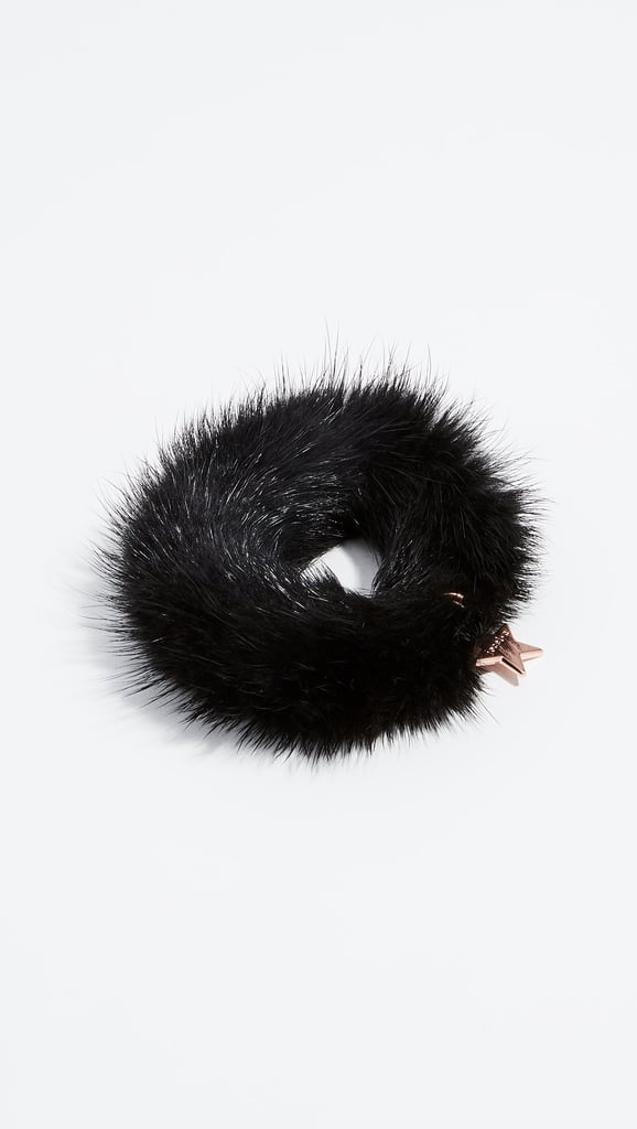 d23392a5c Jocelyn Mink Tail Scrunchy | Cute Stocking Stuffers | POPSUGAR Smart ...