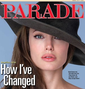 Pictures and Quotes From Salt's Angelina Jolie in Parade 2010-07-07 07:50:38