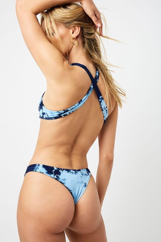 Sunny Bottom — Blue Tie Dye