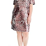 Universal Standard for J.Crew Sequin Shift Dress
