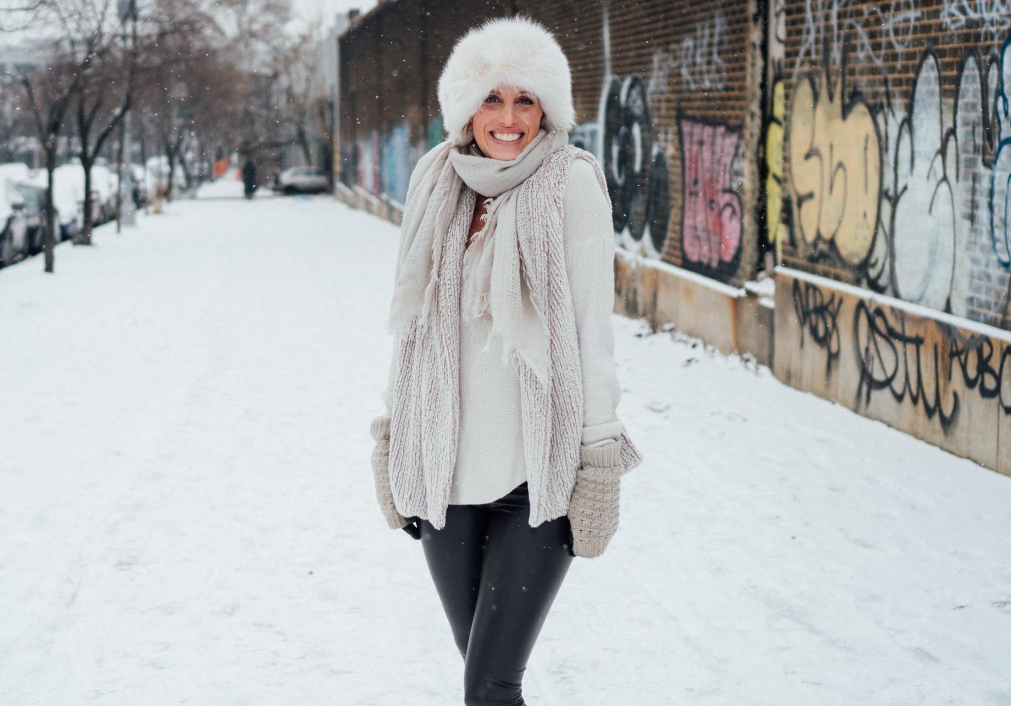 Snow pleather