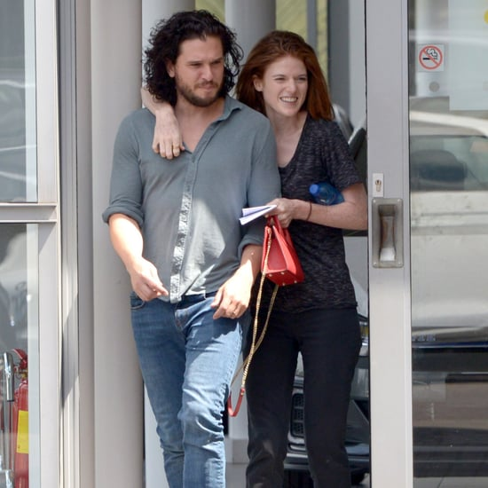 Kit Harington and Rose Leslie Out in London July 2018