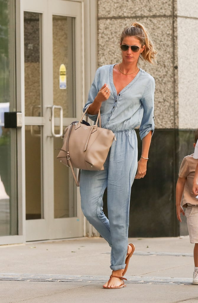 Gisele Bündchen Carrying Louis Vuitton