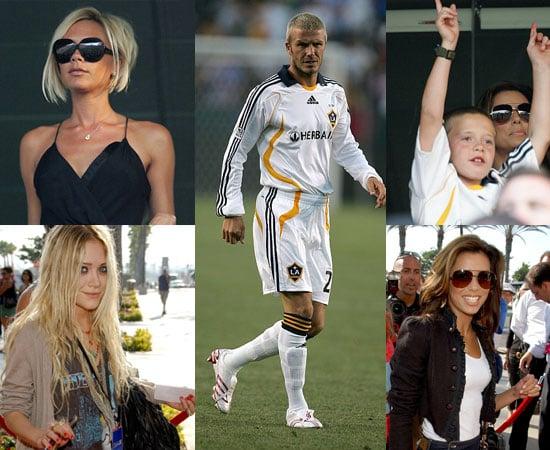 A Galaxy Of Fans Show Their Beckham Pride