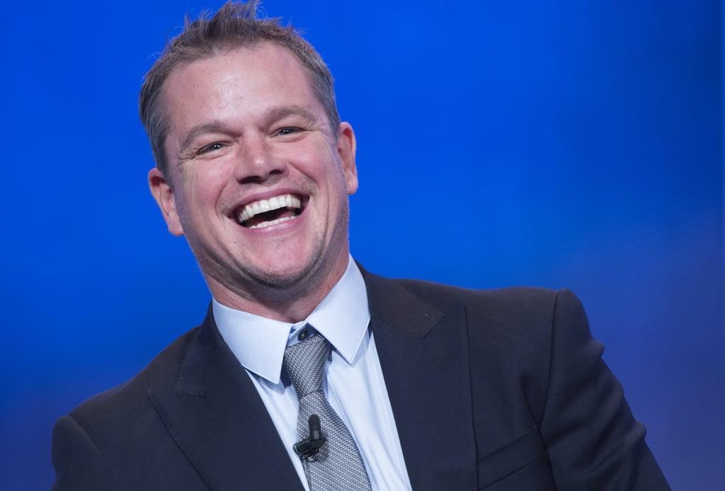 14 Times Matt Damon Proved He's Absolutely Hilarious