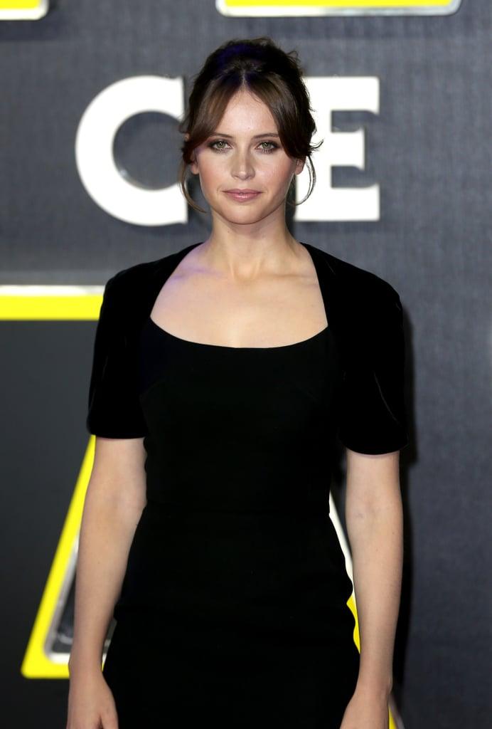 Felicity Jones as Jyn Erso