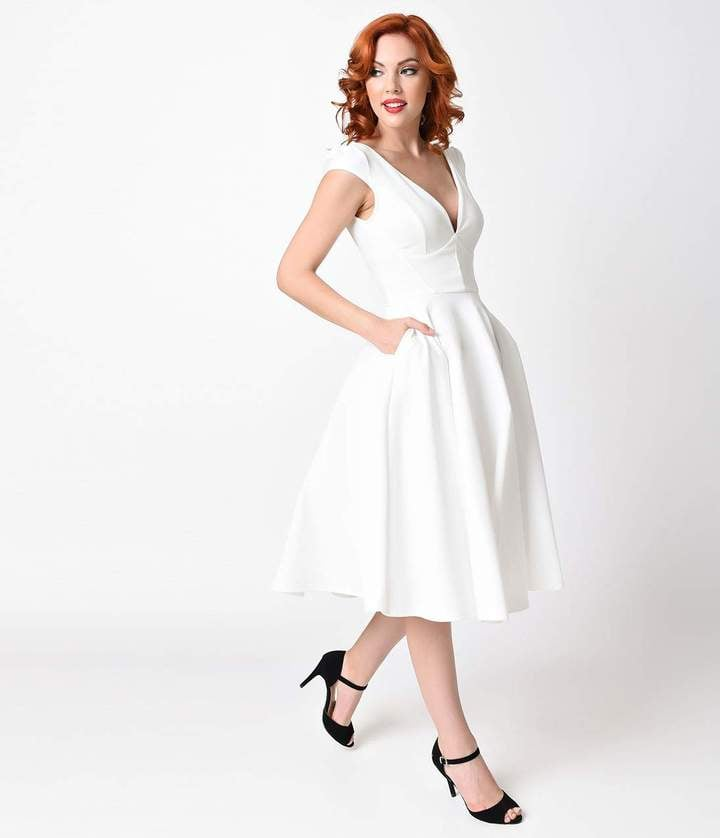 Vintage 1950s Wedding Dress 96 Best
