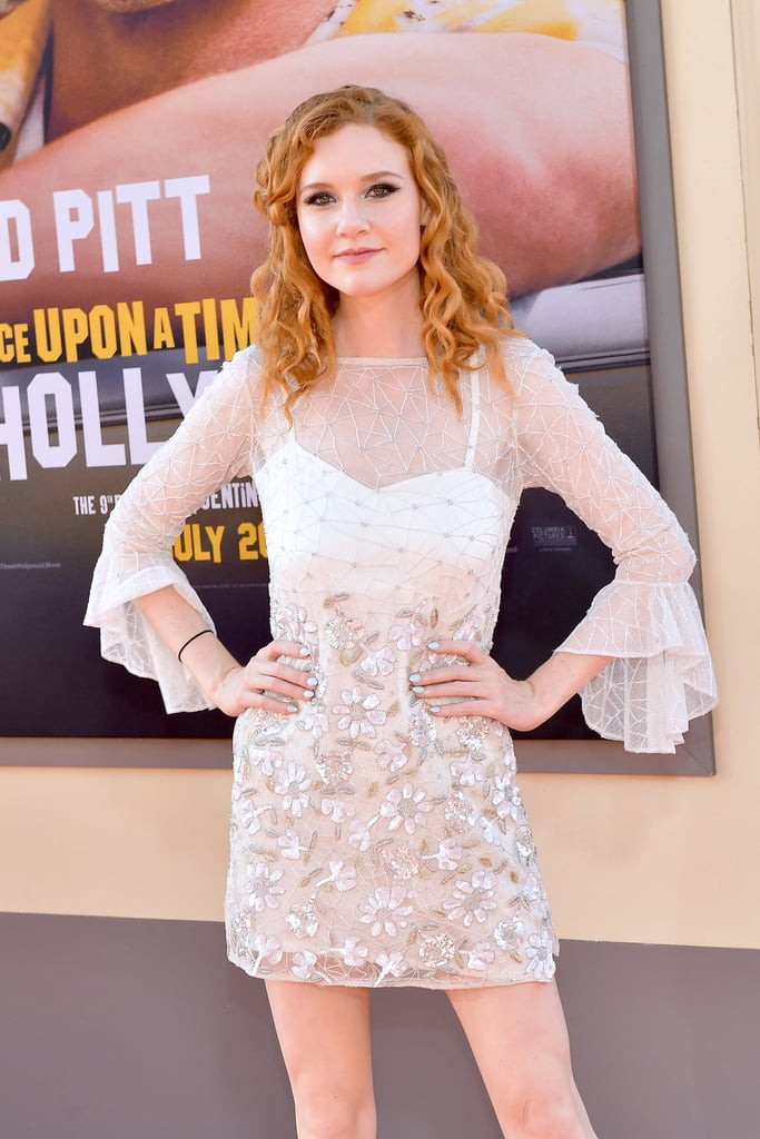 Madisen Beaty at the Once Upon a Time in Hollywood LA premiere.
