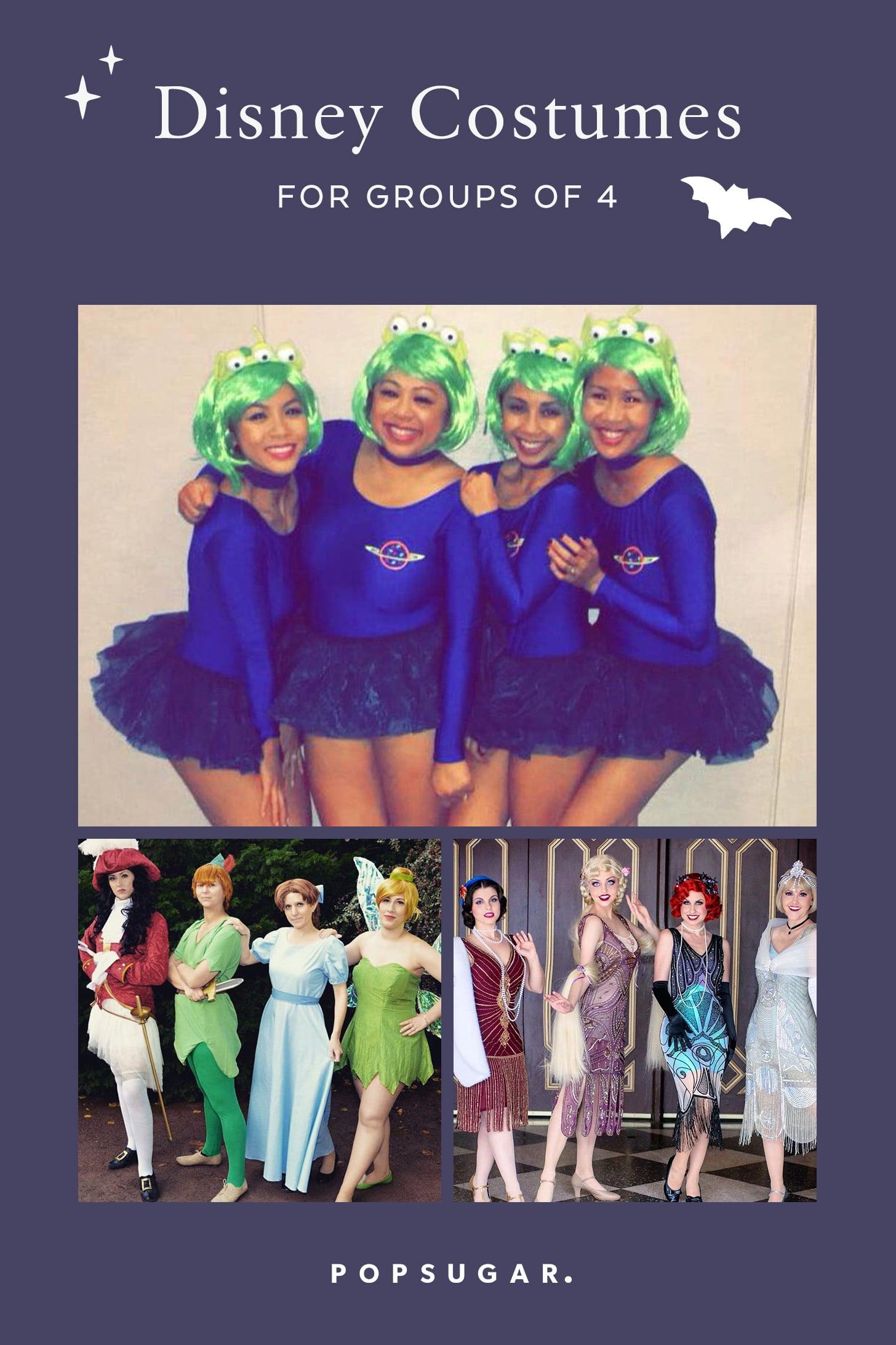 Disney Costumes For Groups Of 4 Popsugar Smart Living