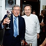 Daniel Boulud Sipped Champagne With Tony Bennett
