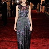 Carey Mulligan in Erdem at the 2010 Dubai International Film Festival