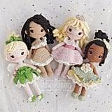 Disney Princess Doll Four Pattern Bundle