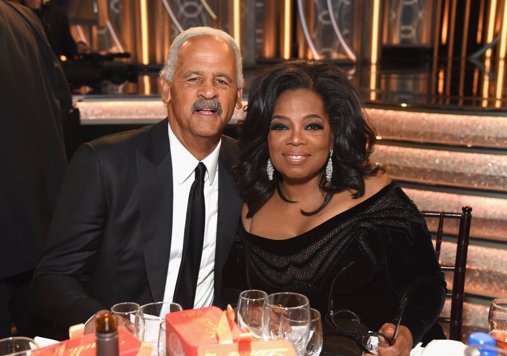 Pictured: Stedman Graham and Oprah Winfrey