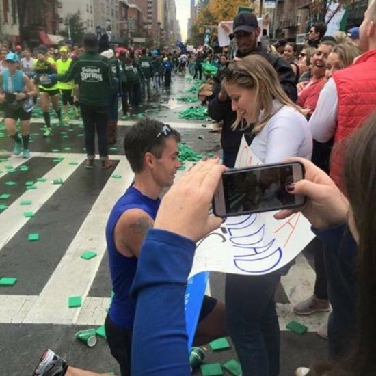 NYC Marathon Couple Seeks Their Perfect Engagement Photo