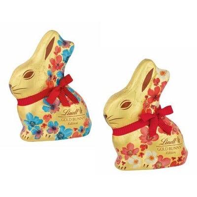 Lindt Floral Easter Gold Bunny