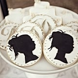Personalized Silhouette Cookies