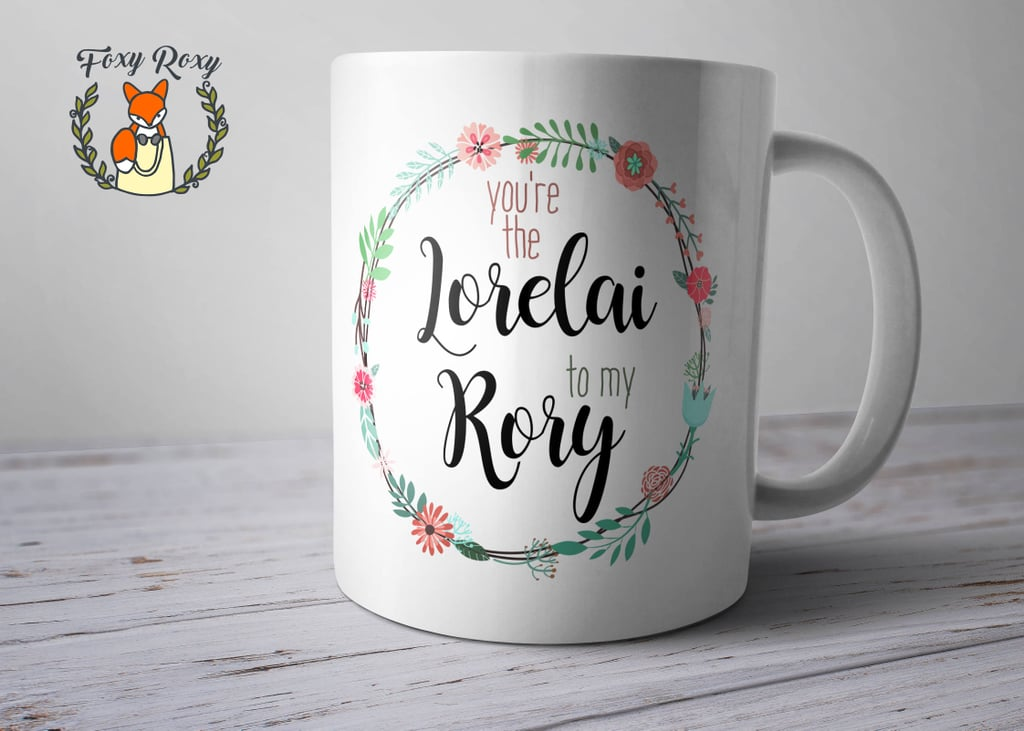Lorelai and Rory Coffee Cup
