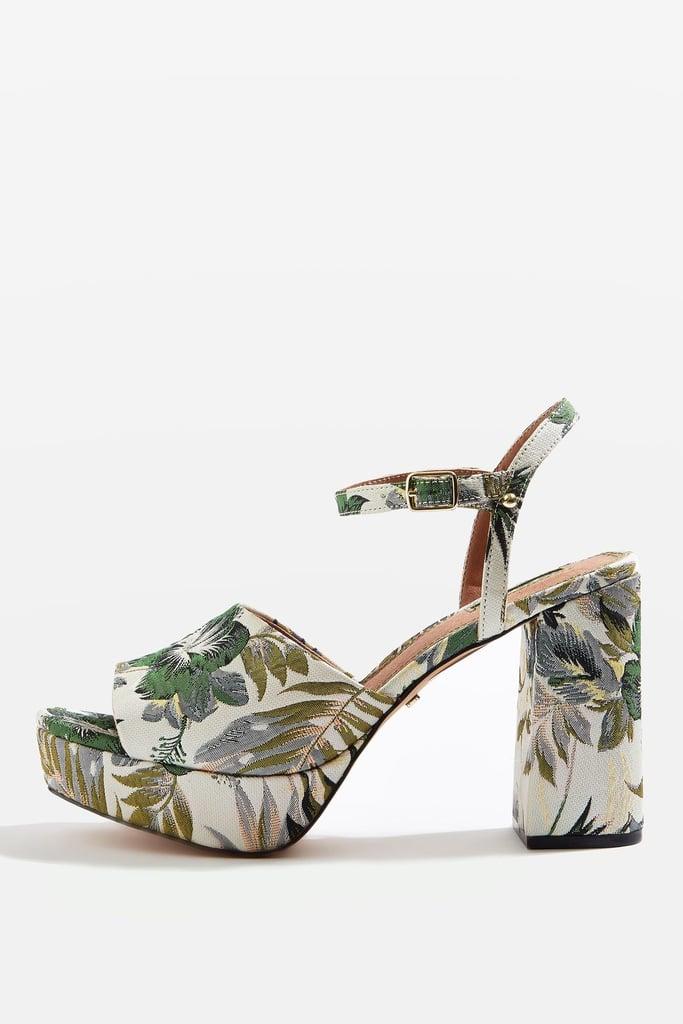 Topshop Lava Platform Sandals