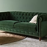 Lyre Chesterfield Two-Cushion Sofa