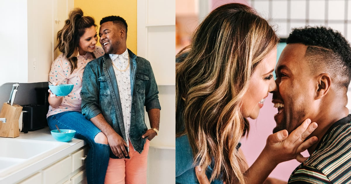 This Adorable Couple Had a Retro '90s Photo Shoot, and Wow - Bring on the Nostalgia!