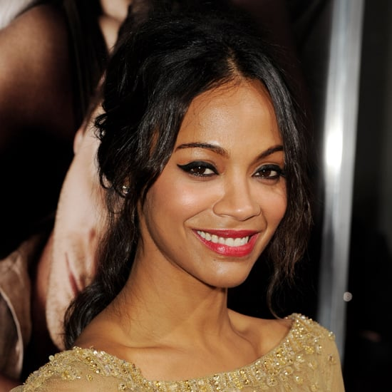 Get the Look Zoe Saldana's Sexy Hairstyle at The Words Premiere