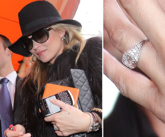 kate moss celebrity engagement ring pictures popsugar