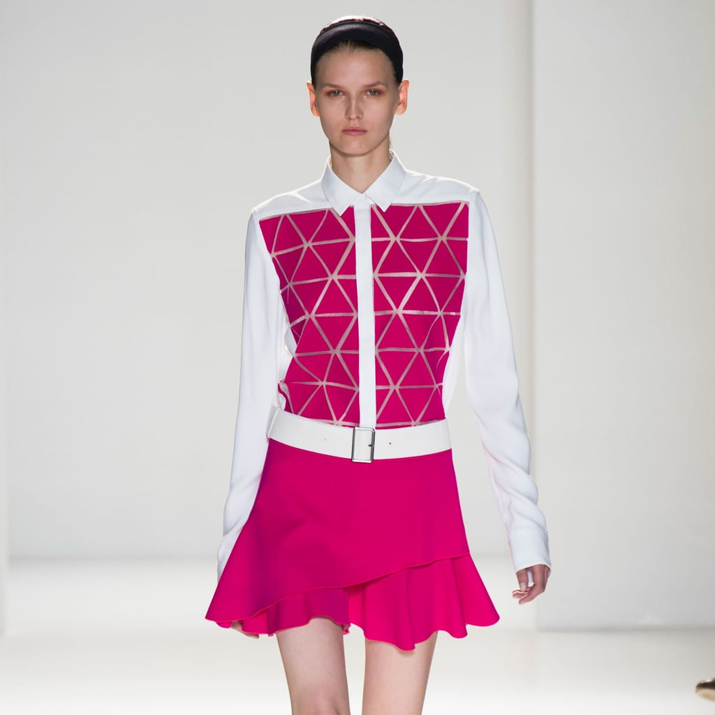 Victoria Beckham Spring 2014 Runway Show   NY Fashion Week