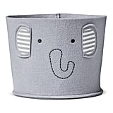 Cloud Island Felt Storage Bin Small Elephant