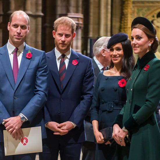 Kate, William, Harry, Meghan at Royal Foundation Dinner 2018