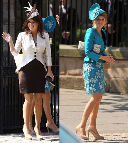 Princesses Beatrice and Eugenie Arrive For Zara Phillips's Wedding!