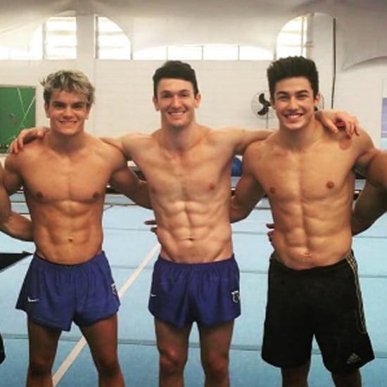 Brazil's Hot Men's Gymnastics Team | Video